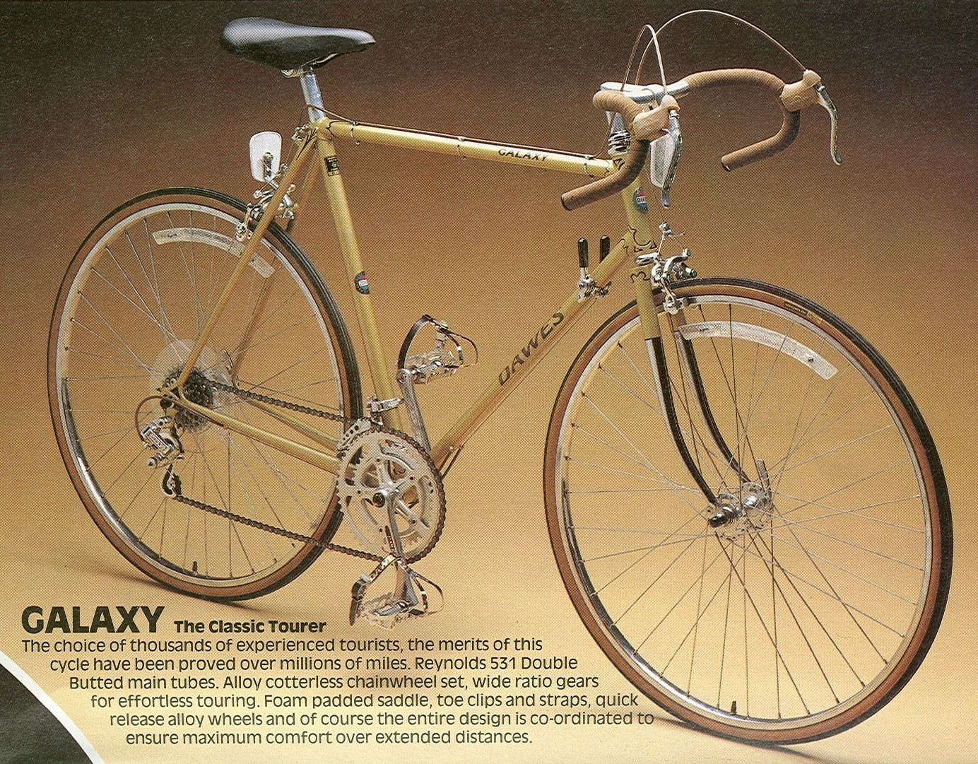 Dawes Touring Bike